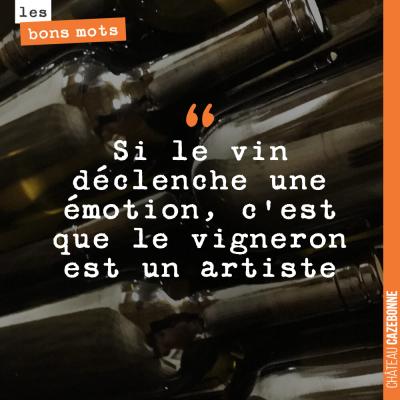 Parce que, boire du vin c'est tout un art.