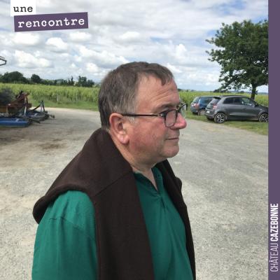 Jean Sourget, l'ancien propriétaire du principal îlot de vignes du domaine (sous le nom de Peyron...