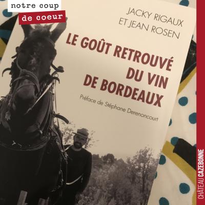 Reçu ce jour par la Poste. Hâte de le lire et de découvrir une autre approche du vin de Bordeaux ...