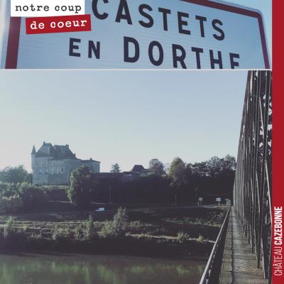 La région comporte de nombreuses merveilles à découvrir. Ici le château de Castets en Dorthe qui ...