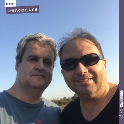 Je vous avais promis un selfie avec David dans les vignes. Chose promise, chose due.