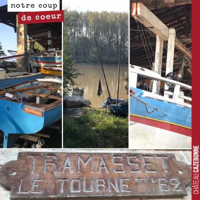 Les chantiers navals Tramasset ont fermé en 1980. Le site est aujourd'hui classé monuments histor...