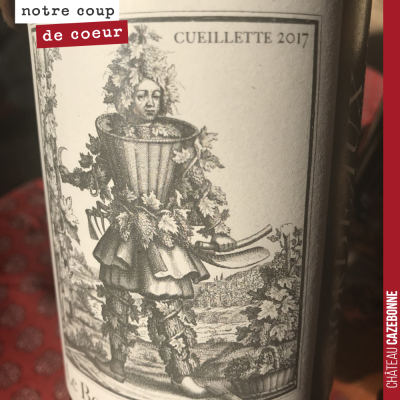 Une étiquette de Bordeaux originale...