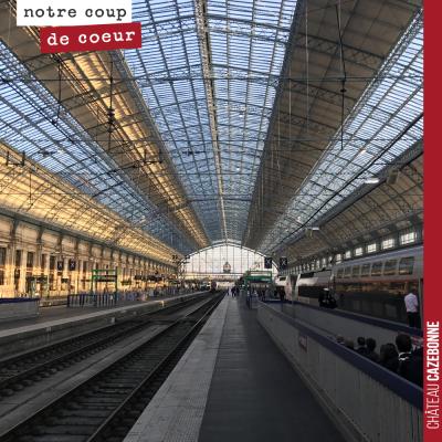 Rien que pour voir la gare, il faut venir à Bordeaux. Et les travaux effectués sur la verrière so...