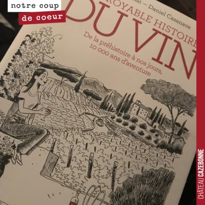 Lecture du soir. Très sympa cette BD qui retrace l'histoire de la vigne et du vin. Très documenté...