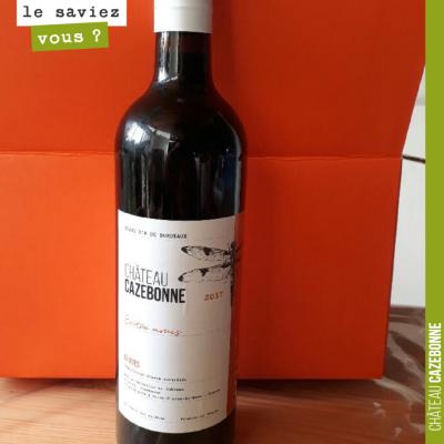 On finalise le packaging. Vous aimez ? Pour notre Graves rouge 2017, Entre amis.