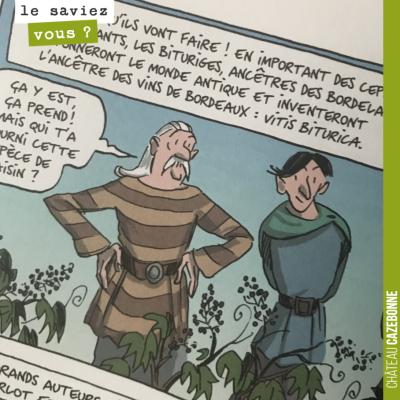 Les bituriges, nos ancêtres girondins, ont été chercher des plants de vigne en Espagne dans les c...