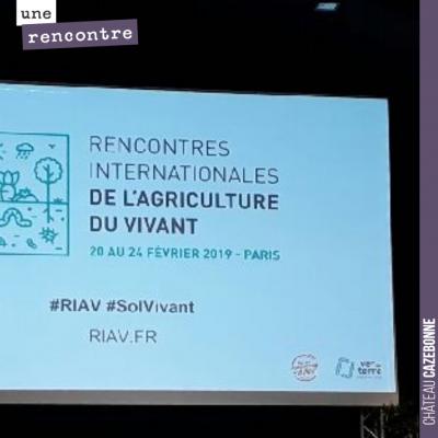 Nous sommes présent ce matin aux Rencontres Internationales de l'Agriculture du Vivant. Des inter...