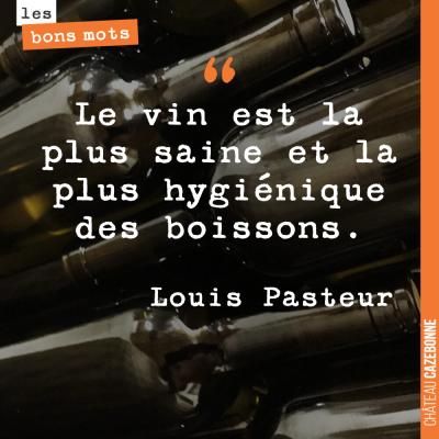 Si c'est Pasteur qui le dit...