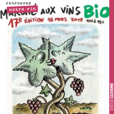 Retrouvez nous Samedi prochain au salon des vins Bio de Montreuil, pour déguster les deux premier...