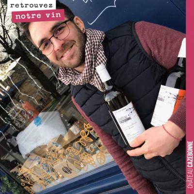 Quand Marvin de l'Epicerie du mail à Rennes nous repasse une commande de 60 bouteilles de notre P...