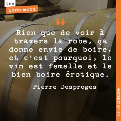 Sacré Pierre Desproges !
