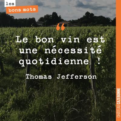 SI même Jefferson l'a dit !