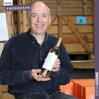 Superbe rencontre avec Régis Chaigne, vigneron dans l'Entre-Deux-Mers et par ailleurs créateur de...