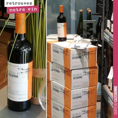 Pour nos amis bretons, retrouvez désormais la cuvée Entre amis de Cazebonne à la cave Le vin et v...