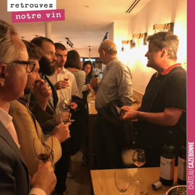 Retour sur la dégustation Winefunding de jeudi soir, où nous avons pu vous faire déguster nos vin...