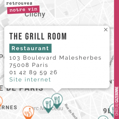 Très belle adresse du 8eme à Paris. Très belle carte et désormais la cuvée Entre amis vous y sera...