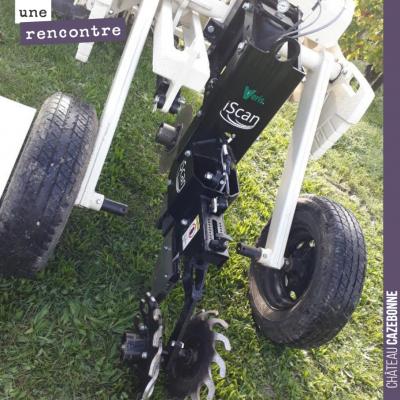Savez vous à quoi cette machine expérimentale peut servir ? A scanner les sols pour en analyser l...