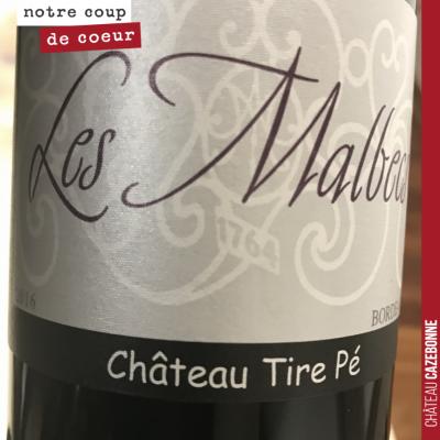 Parmi les très belles choses dégustées ce week-end, les Malbecs de Château Tire-Pé. Malbec au plu...