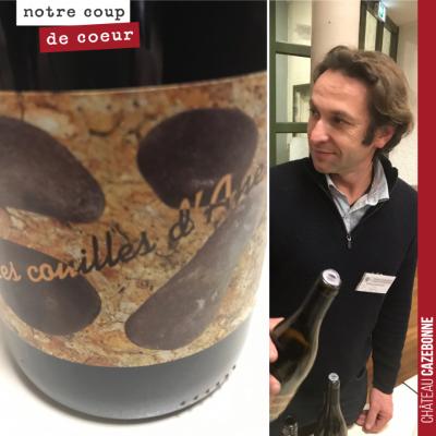 Très belle cuvée de Cot (appelé chez nous Malbec), signée Mickael Bouges en Touraine. Le nom de l...