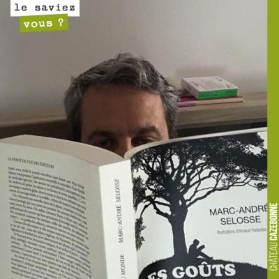 Après 'Jamais seul', je viens de m'attaquer au dernier ouvrage de Marc-André Selosse, 'Les goûts ...
