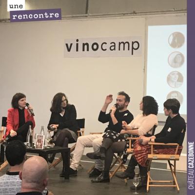 Lundi, nous étions au Vinocamp à Paris. Passionnants échanges entre professionnels et passionnés ...