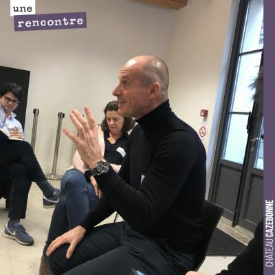 Passionnante discussion pendant le Vinocamp avec Lilian Berillon et Loïc Pasquet sur la préservat...