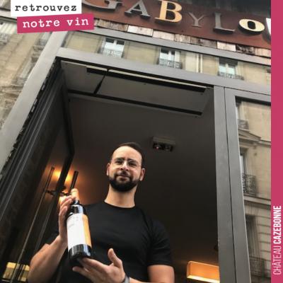 Retrouvez désormais notre vin au Gabylou dans le 17ème arrondissement de Paris. (15 rue d'Armaillé)