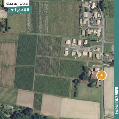 Notre îlot de Darche est encerclé par les lotissements, extension continue de la commune de Saint...