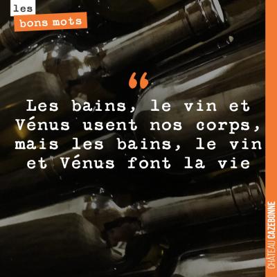 Magnifique, ce proverbe latin !