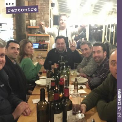 Après la soirée de mardi des Bordeaux Pirate au restaurant 750g la table, Porte de Versailles... ...