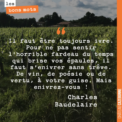 Baudelaire, for ever...
