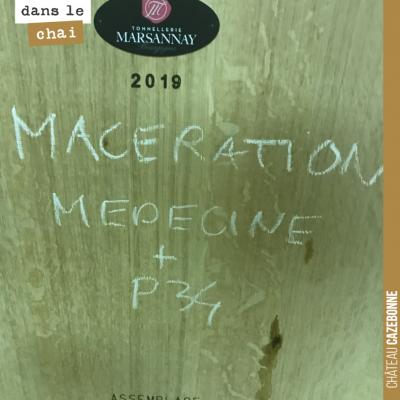 On vous prépare un vin de macération cette année. Issu de sémillon (80%) et sauvignon gris (20%)....