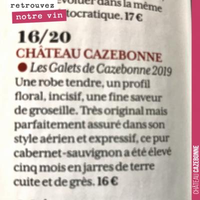Et bim, meilleure note des Graves dans la RVF, juste derrière le Château Magence 2010, de notre v...