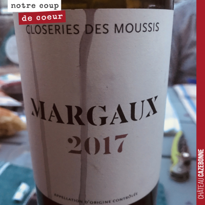 On s'est régalé hier soir avec ce Margaux, gourmand, frais, juteux. Le petit jésus en culotte de ...