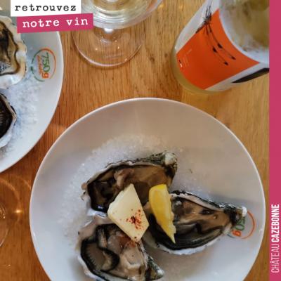 Avec des huîtres, la cuvée Entre amis fonctionne bien aussi ! Vous aimez les huîtres ?