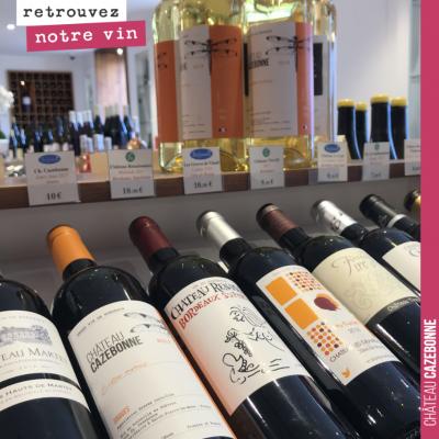 Les vins de Cazebonne en bonne compagnie au Clos des Millésimes à Bordeaux. Vous voulez goûter no...