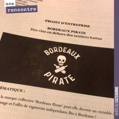 Soutenance par un groupe d'étudiants de l'école Kedge, sur la stratégie des Bordeaux Pirate. Insp...