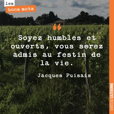 Hommage à Jacques Puisais, qui nous a quitté, il y a quelques jours.