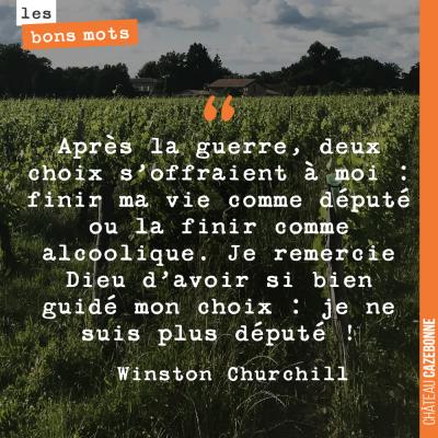 A ta santé, Churchill !