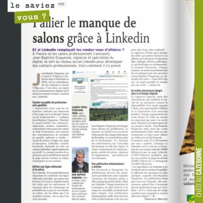 On a été interviewé par le magazine Reussir Vigne sur notre politique de communication sur Linked...
