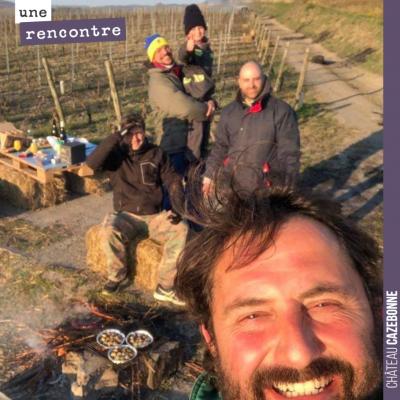 Coup de cœur pour un formidable vigneron, Stéphane Bonjean en Auvergne, qui lutte depuis 7 nuits ...