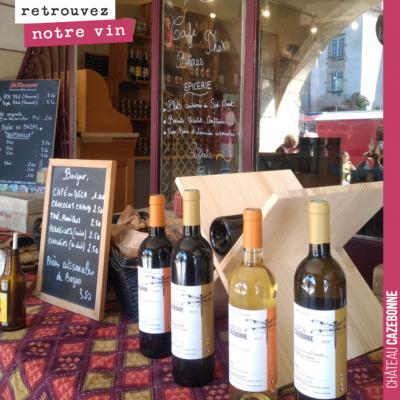 Retrouvez nos vins à Bazas en Gironde, dès l'ouverture des restaurants à Bocal Local. Merci de vo...
